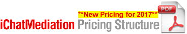 iChat Mediation Pricing